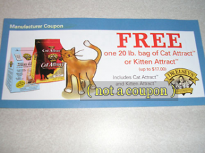 Picture of my Dr Elseys Cat Attract 20lb Bag Free Coupon
