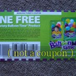 Picture of my Balloon Time Any Variety Free Coupon