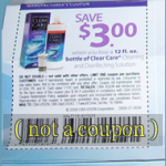 Coupon for Save $3 Clear Care