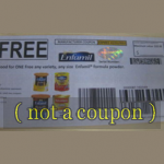 Coupon for Free Enfamil Formula